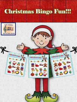 Christmas Bingo Fun - Primary Edition