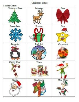 Christmas Bingo Game by TchrBrowne | Teachers Pay Teachers