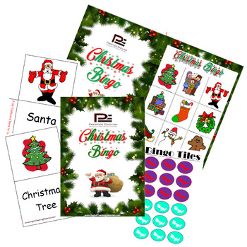 Christmas Bingo Game | FREE Download | Freebie