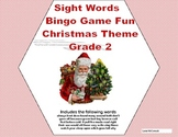 Christmas Bingo Game Fun- Sight Words for Grade 2