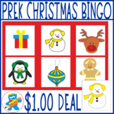 Christmas Bingo Game. Fun and Hands-on learning. Winter vocabulary.