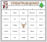 Christmas Bingo Game- Holiday Fun! 60 Bingo Cards Printable
