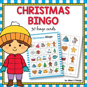 Christmas Bingo Game  - Christmas Activities for Kindergarten