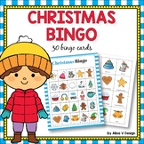 Christmas Bingo Game  - Christmas Activities for Kindergarten