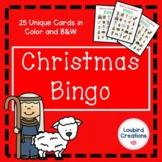Christmas Bingo Game for the Christian Classroom