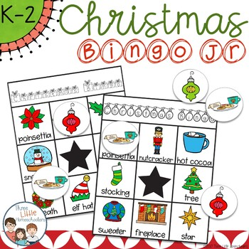 Christmas Bingo Jr with 30 Unique Cards