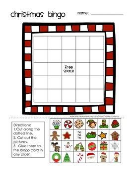 Christmas Bingo: Make Your Own Board