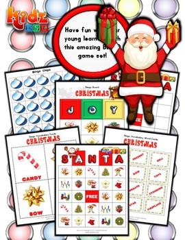 Christmas Bingo / Matching Activities