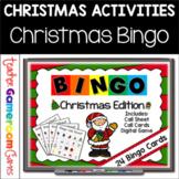 Christmas Bingo Powerpoint Game Kit