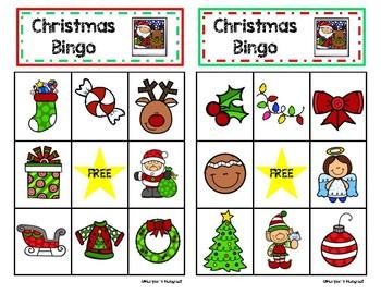 Christmas Bingo Set
