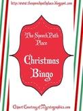 Christmas Bingo Vocabulary Game