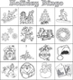 Christmas / Holiday / Winter / Xmas Bingo - 20 Card Set