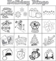 Christmas / Holiday / Winter / Xmas Bingo - 30 Card Set