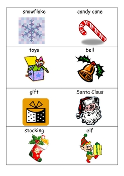 Christmas Bingo and Concentration