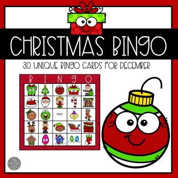 Christmas Bingo for 30 Children