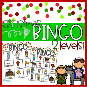 Christmas Bingo game ~ Christian theme + First Christmas