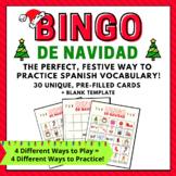 Christmas Bingo in Spanish     Bingo de Navidad      Loter