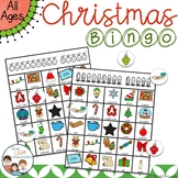 Christmas Bingo with 30 Unique Cards