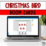Christmas Birds Counting 1-10 Activities Digital Task Card