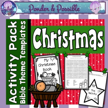 Christmas Nativity Activities for the Birth of Jesus ~ 20+ Activities