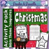 Christmas Nativity Activities for the Birth of Jesus ~ 20+