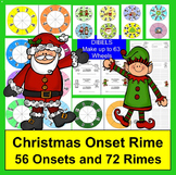 Christmas Activities: Word Building Onset Rime Activities