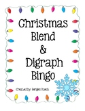 Christmas Blends and Digraph Bingo
