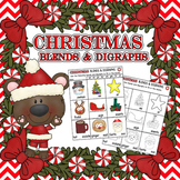 Christmas Blends and Digraphs Worksheet