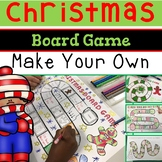 Christmas Board Game Make Your Own