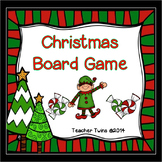 Christmas Board Game with Equations