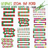Christmas Board Games - Clipart Graphics for Teachers