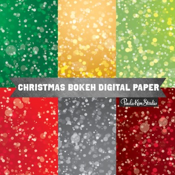 Digital Paper - Bokeh