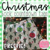 Christmas Book Countdown Tags - FREEBIE!