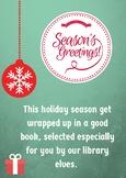 Christmas Book Display Poster