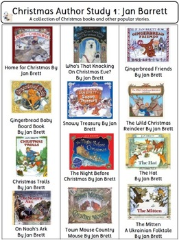 Christmas Book List (visual): 540 Christmas Books Teacher's Resource