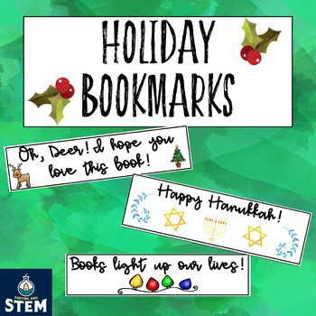 Christmas Book Marks