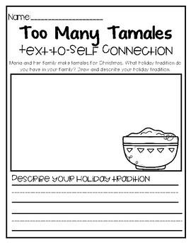 Christmas Book Response Worksheets