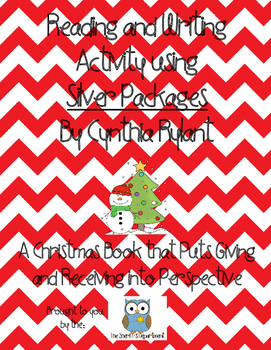 Christmas Book-Silver Packages Writing Activity