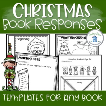 Christmas Book Tasks for any Christmas Book