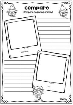 Christmas Book Tasks for any Christmas Book