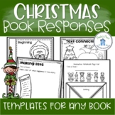 Christmas Book Activities For Any Book