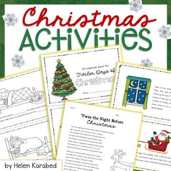 Christmas Booklet Bundle: 'Twas the Night + Twelve Days