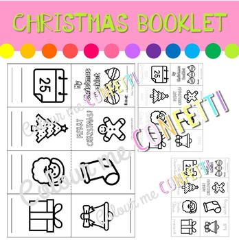 Christmas Booklet - Colour me Confetti
