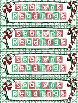 Christmas Bookmarks (Free)