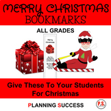 Christmas Bookmarks: Holiday Bookmarks