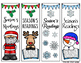 Christmas Bookmarks (in color and black/white)