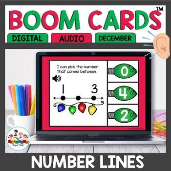 Christmas Boom Cards Numbers in between