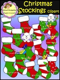 Christmas Stockings Clip Art (School Designhcf)