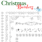 Christmas Borders (By The Doodle Dude)