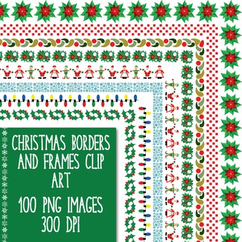 Christmas Borders and Frames Clip Art
